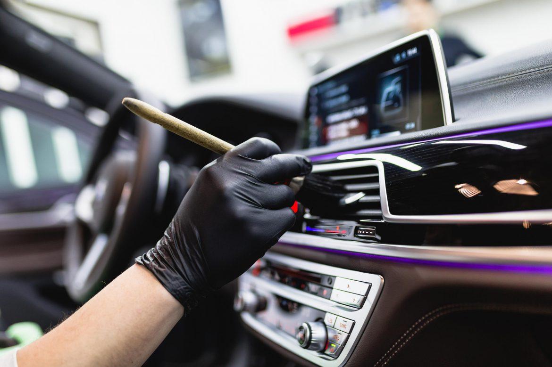 czyszczenie wnętrza samochodu Bydgoszcz